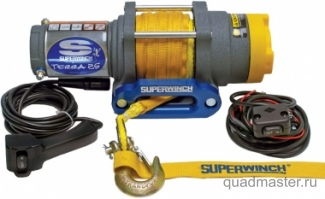 Лебедка электрическая для ATV Superwinch Terra25 с синтетическим тросом, изображение 1